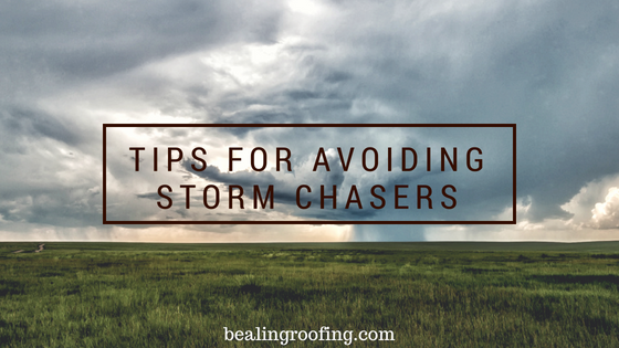Tips for Avoiding Storm Chasers