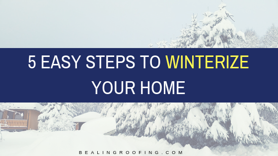 5 Easy Steps to Winterize Your Home