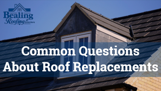 Common Questions About Roof Replacements