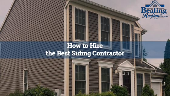 Steps to Hiring the Right Siding Contractor