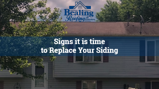 Signs it is Time to Replace Your Siding