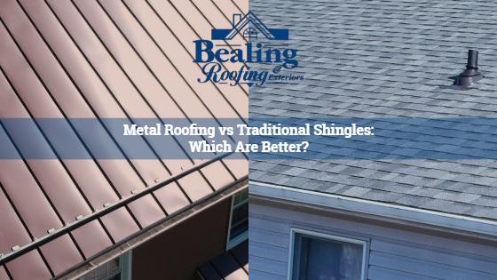Metal Roofing vs. Traditional Shingles