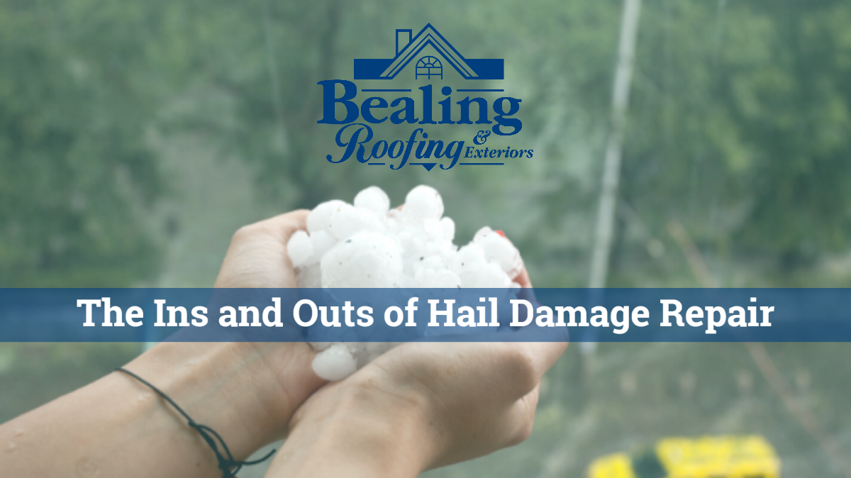 The ins and outs of hail damage repairs