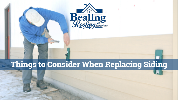 Things to Consider when Replacing Siding on Your Home