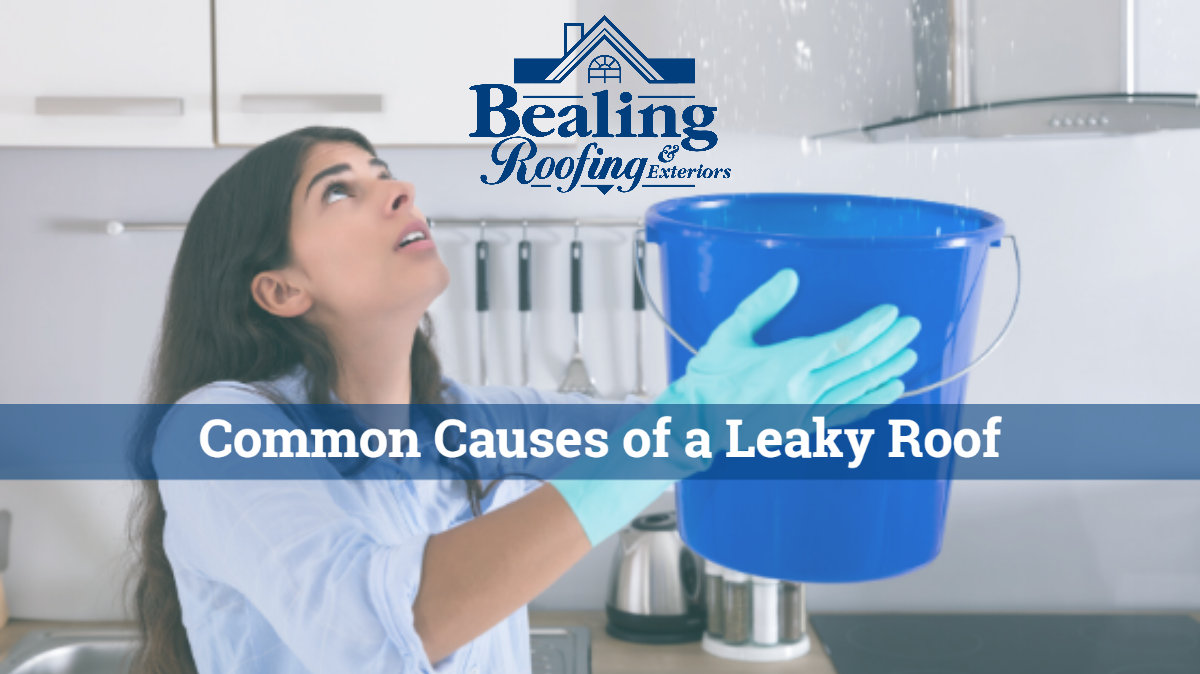 Five common causes of a leaky roof