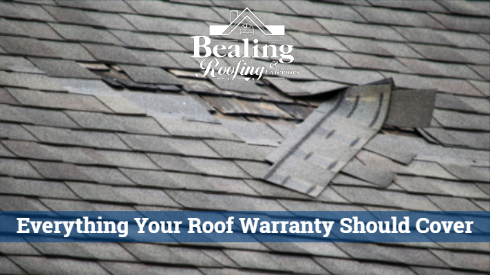 5 Things to Make Sure are in Your Roof Warranty