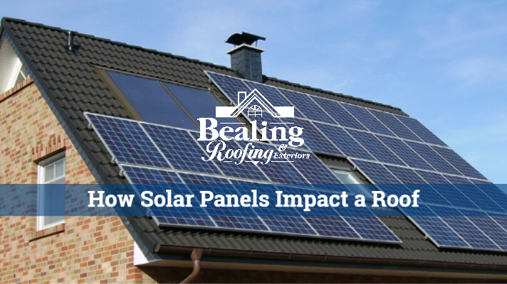 How Solar Panels Impact a Roof