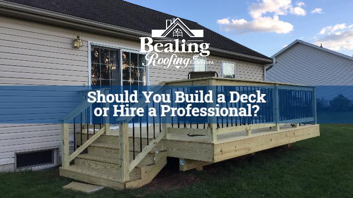 Should You Build a Deck or Hire a Professional