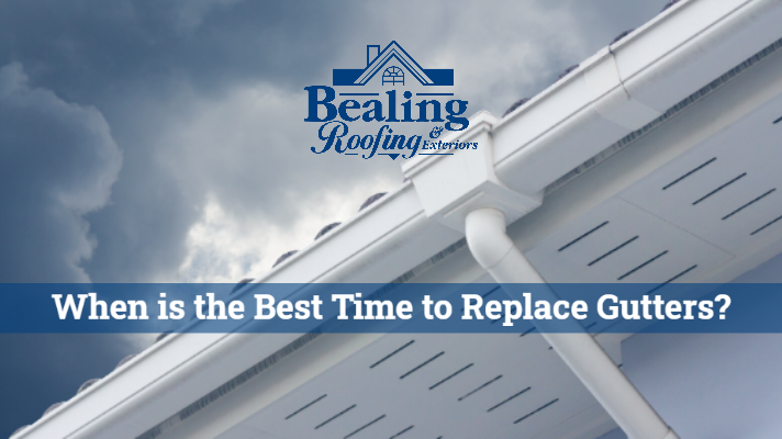 When is the Best Time to Replace Gutters