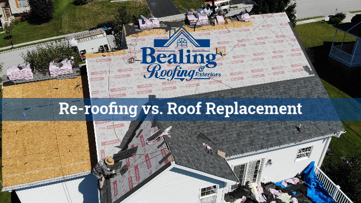 Re-roofing versus Roof Replacement Which is the Better Choice