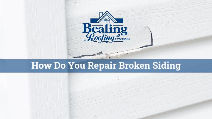 How Do You Repair Broken Siding