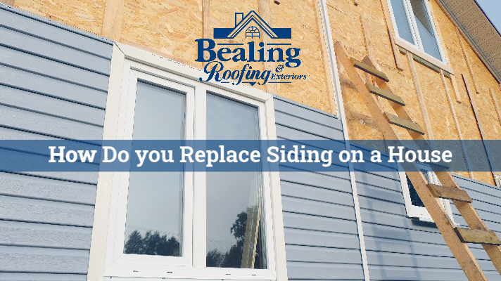 How do you Replace Siding on a House