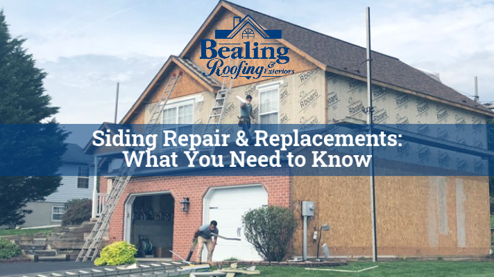 Everything You Need to Know About Siding Repair & Replacements