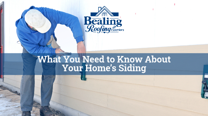 What You Need to Know About Your Home's Siding
