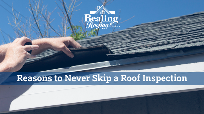 reasons to never skip a roof inspection