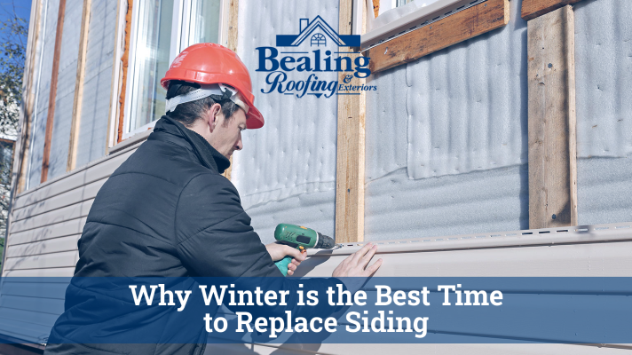 Why Winter is the Best Time to Replace Siding