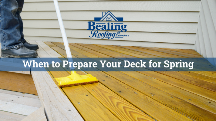 When to Prepare Your Deck for Spring