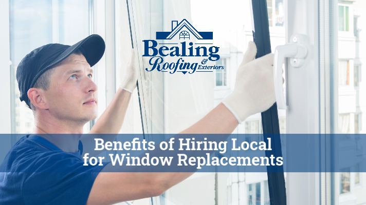 Benefits of Hiring Local for Window Replacements