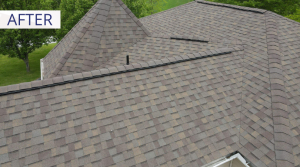 roof replacement results