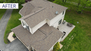 roof replacement after
