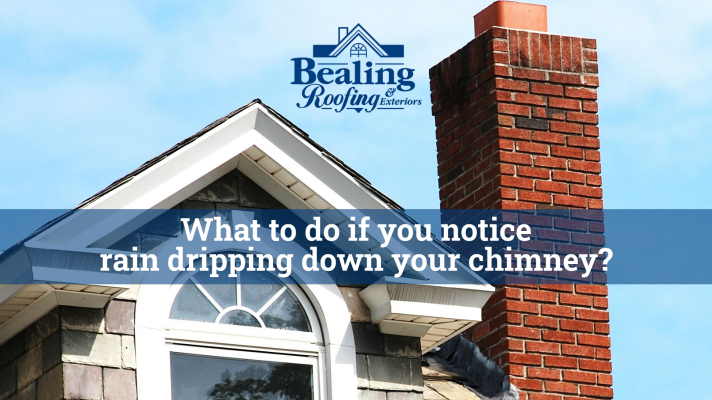 What to Do If You Notice Rain Dripping Down Your Chimney