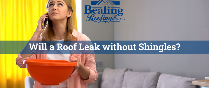 Will a Roof Leak without Shingles?