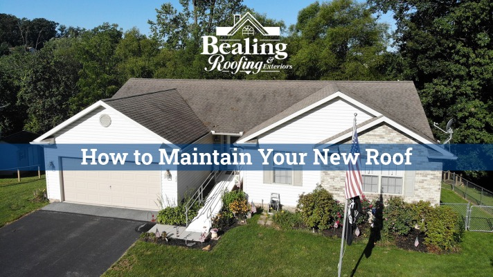 How to Maintain Your New Roof