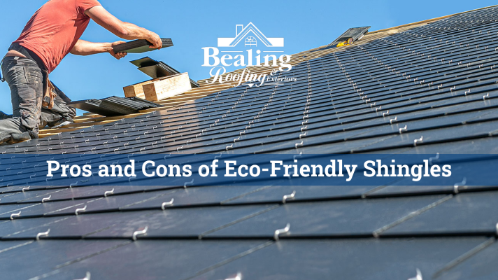 Pros and cons of eco-friendly shingles