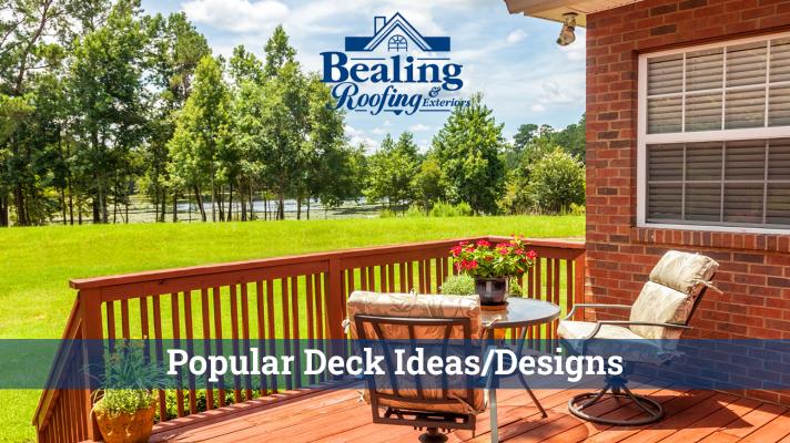 Popular deck ideas/designs
